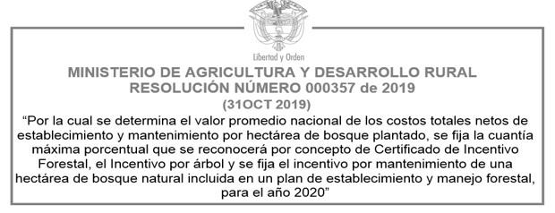 VALORES DEL CIF 2020